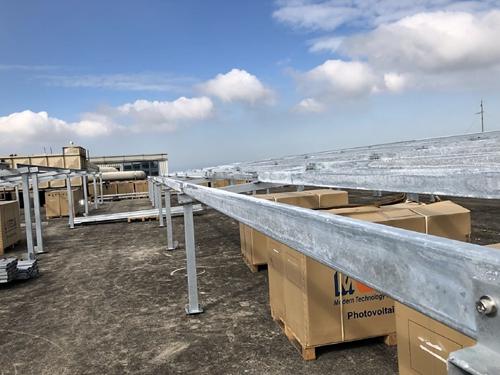 茂迪太陽光電發電系統-鋼骨支架