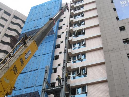 柯達敦南飯店樓梯電梯-增建工程