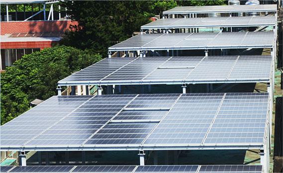 太陽能鋼骨支架